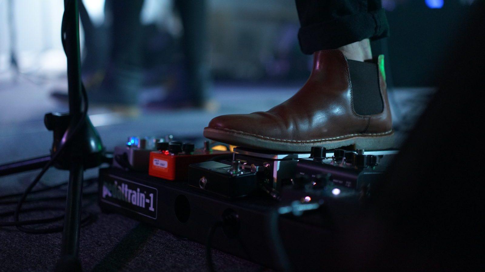 Worship Guitar Pedalboard - Stacking Overdrives