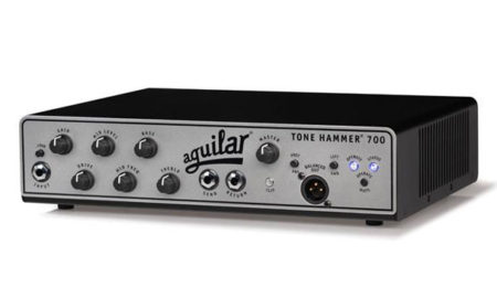 Aguilar Amplification Announces the Tone Hammer 700 Super Light Amplifier