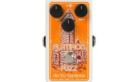 Electro-Harmonix Unveils the Flatiron Fuzz