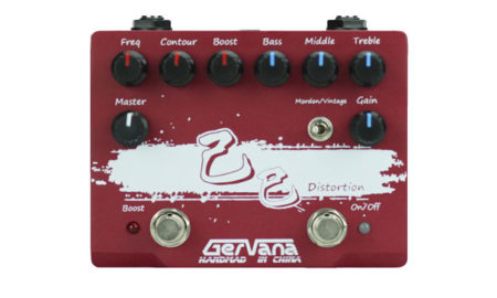 Gervana Introduces the Ji Si Distortion Pedal