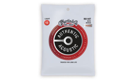 Martin Guitar Introduces Authentic Acoustic Strings
