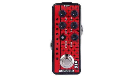 Mooer Releases Three Micro Preamp Pedals