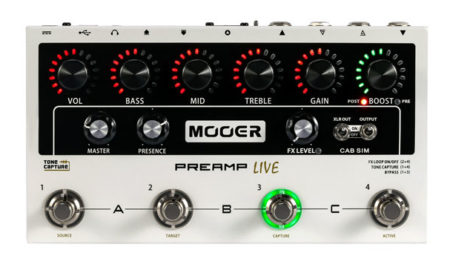 Mooer Unveils the Preamp Live