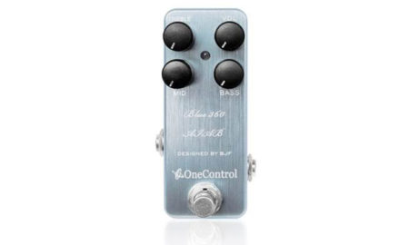 One Control Blue 360 Bass Preamp Pedal