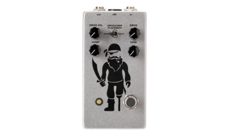 Pirate Guitar Effects Releases the Peg Leg Overdrive and Compressor