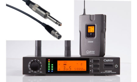 Carvin Amps and Audio Introduces the UX1200BGT Wireless System for Guitarists