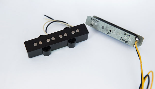 Lollar Announces Release of '70s J-Bass Pickup Set