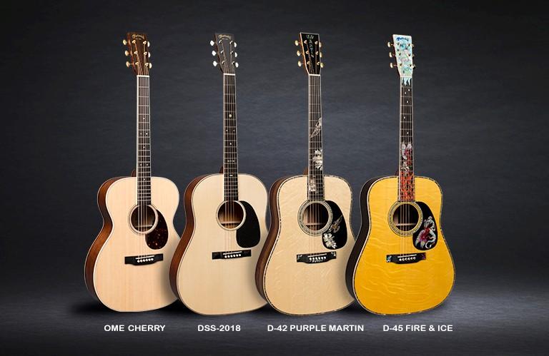 Martin Guitar to Debut New Models at Winter NAMM 2018