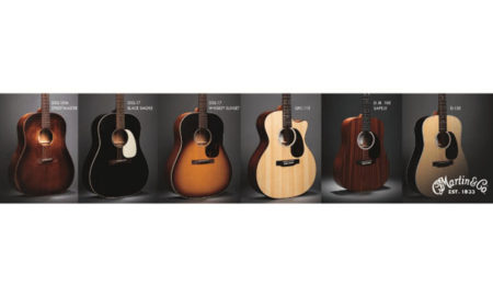 Martin Guitars Unveils Updated Junior Series, Road Series, and New Slope Shoulder Models