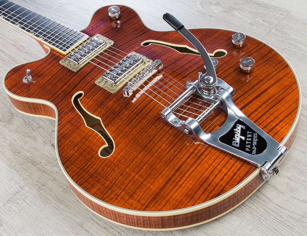 Gretsch G6609TFM Players Edition Broadkaster Semi Hollow Electric Guitar Review
