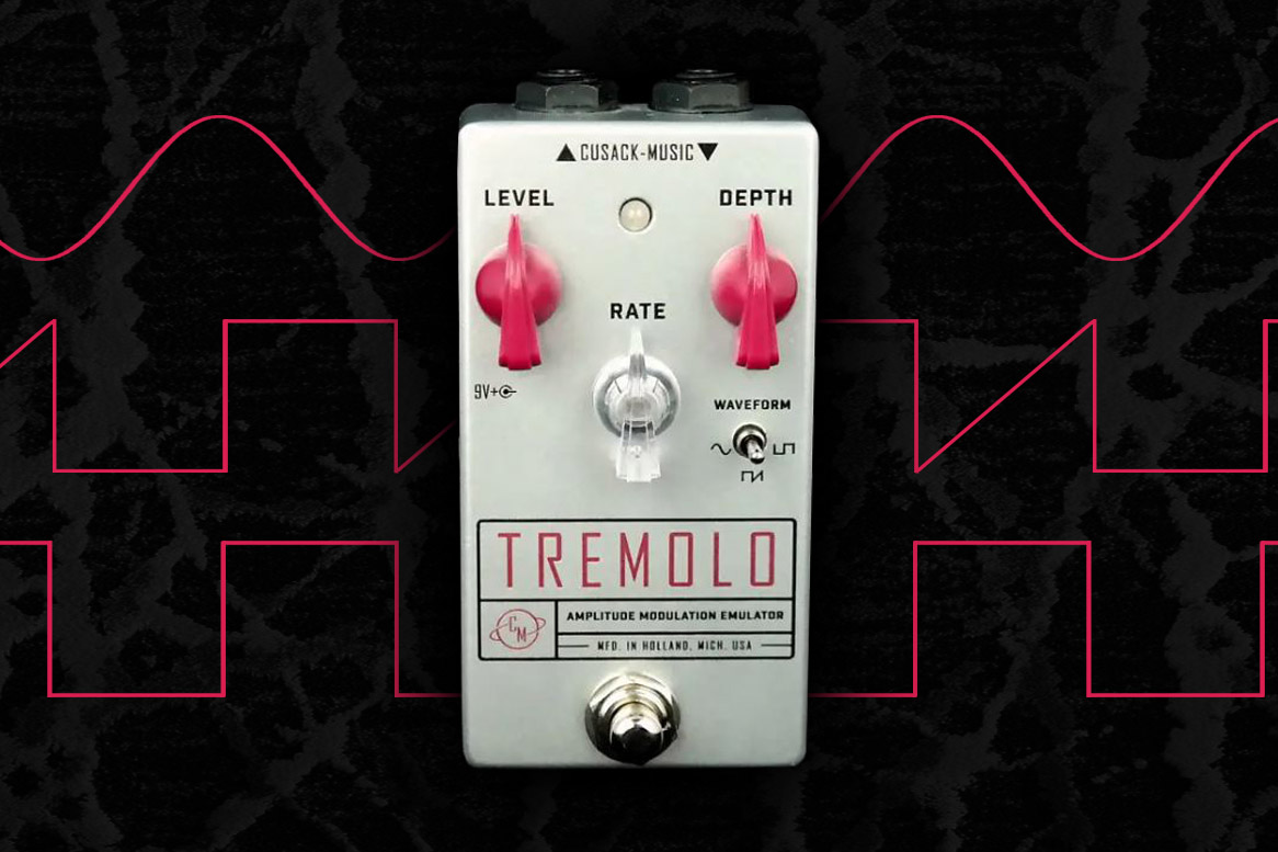Cusack Tremolo Effects Pedal Review for Worship Guitarists